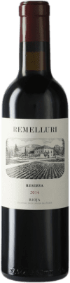 11,95 € Envío gratis | Vino tinto Ntra. Sra de Remelluri Reserva D.O.Ca. Rioja La Rioja España Tempranillo, Garnacha, Graciano Media Botella 37 cl