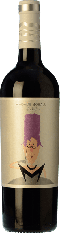 5,95 € Envío gratis | Vino tinto Volver Madame Bobalu Joven D.O. Valencia Levante España Bobal Botella 75 cl