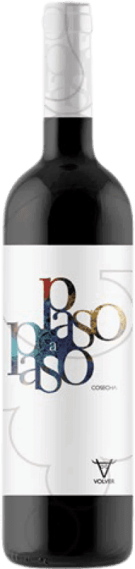 3,95 € Free Shipping | Red wine Volver Paso a Paso Joven D.O. La Mancha Castilla la Mancha y Madrid Spain Tempranillo Bottle 75 cl