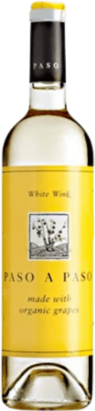 5,95 € Free Shipping | White wine Volver Paso a Paso Orgánico Joven I.G.P. Vino de la Tierra de Castilla Castilla la Mancha y Madrid Spain Macabeo, Verdejo Bottle 75 cl