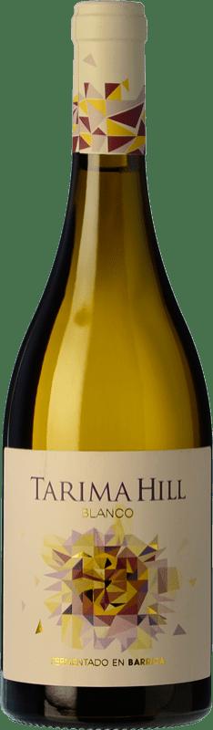 9,95 € Free Shipping | White wine Volver Tarima Hill Fermentado en Barrica Crianza D.O. Alicante Levante Spain Chardonnay, Merseguera Bottle 75 cl
