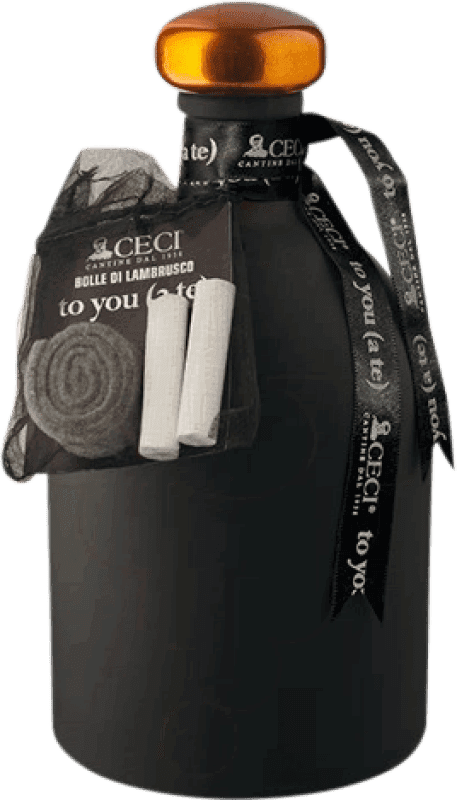 12,95 € 免费送货 | 红汽酒 Ceci to You D.O.C. Lambrusco di Sorbara 意大利 Lambrusco 瓶子 75 cl