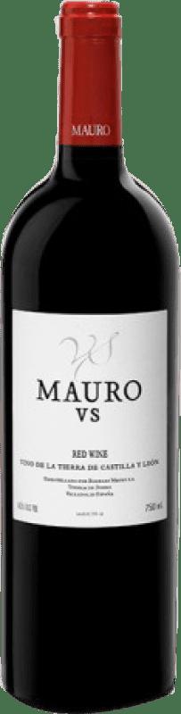 143,95 € Envío gratis | Vino tinto Mauro V.S. Vendimia Seleccionada I.G.P. Vino de la Tierra de Castilla y León Castilla y León España Tempranillo Botella Mágnum 1,5 L
