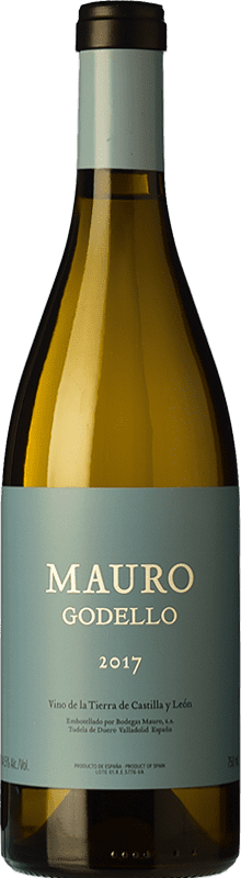 39,95 € Envío gratis | Vino blanco Mauro Crianza I.G.P. Vino de la Tierra de Castilla y León Castilla y León España Godello Botella 75 cl