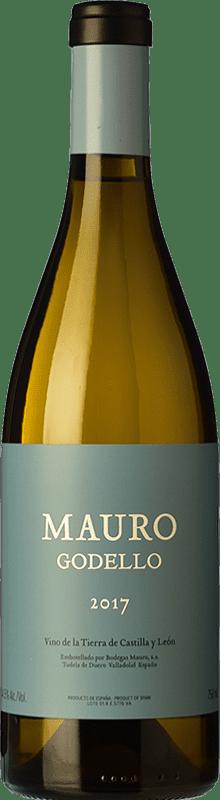 39,95 € Free Shipping | White wine Mauro Crianza I.G.P. Vino de la Tierra de Castilla y León Castilla y León Spain Godello Bottle 75 cl