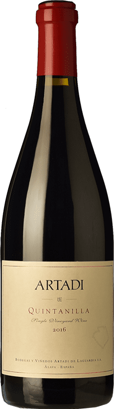 67,95 € | Red wine Artadi Quintanilla D.O.Ca. Rioja The Rioja Spain Tempranillo Bottle 75 cl