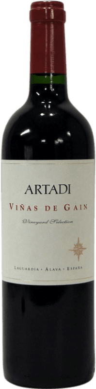 22,95 € Envoi gratuit | Vin rouge Artadi Viñas de Gain Crianza D.O.Ca. Rioja La Rioja Espagne Tempranillo Bouteille 75 cl