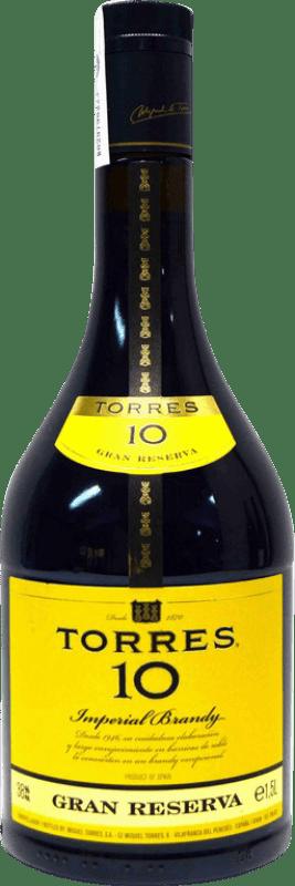 24,95 € | Brandy Torres 10 Años Spain Magnum Bottle 1,5 L