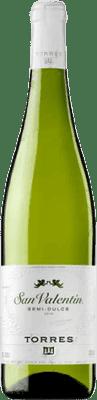 Torres San Valentin Medium Parellada Semi Dry Joven 75 cl