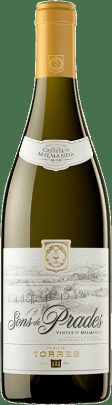 27,95 € | White wine Torres Sons de Prades Crianza D.O. Conca de Barberà Catalonia Spain Chardonnay Bottle 75 cl