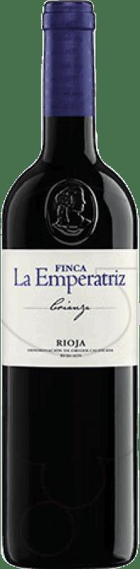 64,95 € Envío gratis | Vino tinto Hernáiz Finca La Emperatriz Crianza D.O.Ca. Rioja La Rioja España Tempranillo, Garnacha, Macabeo Botella Jéroboam-Doble Mágnum 3 L