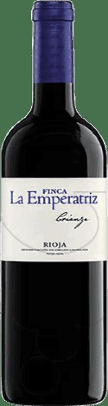 21,95 € 免费送货 | 红酒 Hernáiz Finca La Emperatriz Crianza D.O.Ca. Rioja 拉里奥哈 西班牙 Tempranillo, Grenache, Macabeo 瓶子 Magnum 1,5 L