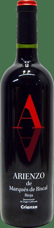 8,95 € | Red wine Marqués de Riscal Arienzo de Riscal Crianza D.O.Ca. Rioja The Rioja Spain Tempranillo, Graciano, Mazuelo, Carignan Bottle 75 cl