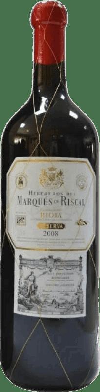 33,95 € | Red wine Marqués de Riscal Arienzo de Riscal Crianza D.O.Ca. Rioja The Rioja Spain Tempranillo, Graciano, Mazuelo, Carignan Jéroboam Bottle-Double Magnum 3 L
