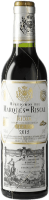 8,95 € Free Shipping | Red wine Marqués de Riscal Reserva D.O.Ca. Rioja The Rioja Spain Tempranillo, Graciano, Mazuelo, Carignan Half Bottle 37 cl