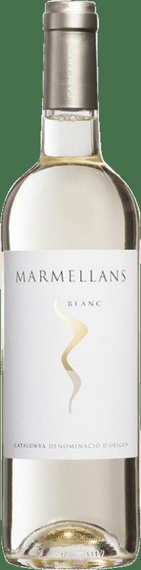5,95 € Envío gratis | Vino blanco Capçanes Marmellans Joven D.O. Catalunya Cataluña España Garnacha Blanca, Macabeo Botella 75 cl