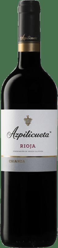 15,95 € Envío gratis | Vino tinto Campo Viejo Azpilicueta Crianza D.O.Ca. Rioja La Rioja España Tempranillo, Graciano, Mazuelo, Cariñena Botella Mágnum 1,5 L