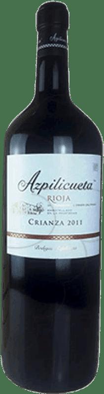 19,95 € | Red wine Campo Viejo Azpilicueta Crianza D.O.Ca. Rioja The Rioja Spain Tempranillo, Graciano, Mazuelo, Carignan Magnum Bottle 1,5 L
