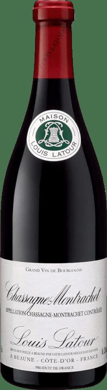 55,95 € Envío gratis | Vino tinto Louis Latour A.O.C. Chassagne-Montrachet Francia Pinot Negro Botella 75 cl