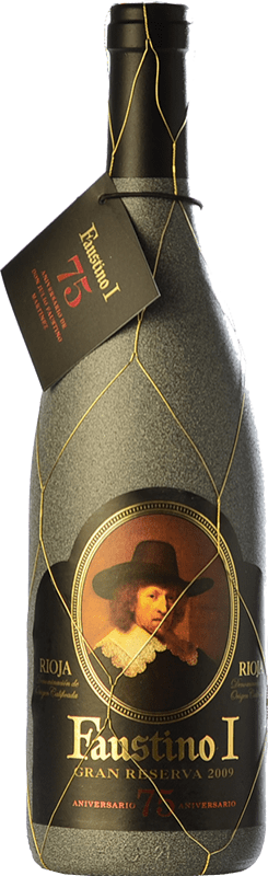22,95 € | Red wine Faustino I 75 Aniversario Reserva D.O.Ca. Rioja The Rioja Spain Tempranillo, Graciano Bottle 75 cl