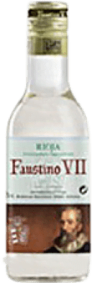 1,95 € | White wine Faustino VII Joven D.O.Ca. Rioja The Rioja Spain Macabeo Small Bottle 18 cl