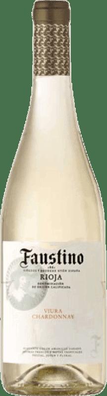 5,95 € Envoi gratuit   Vin blanc Faustino Joven D.O.Ca. Rioja La Rioja Espagne Viura, Chardonnay Bouteille 75 cl