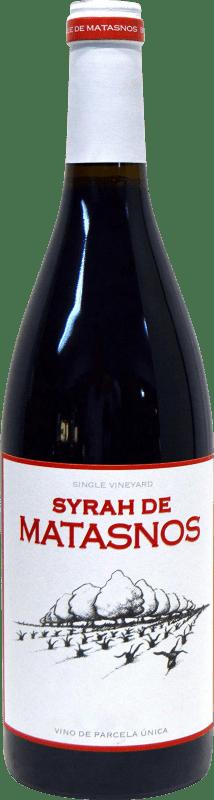 27,95 € Envío gratis | Vino tinto Bosque de Matasnos I.G.P. Vino de la Tierra de Castilla y León Castilla y León España Syrah Botella 75 cl