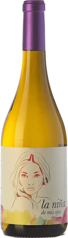 8,95 € Envío gratis | Vino blanco Altanza La Niña de Mis Ojos Joven La Rioja España Sauvignon Blanca Botella 75 cl
