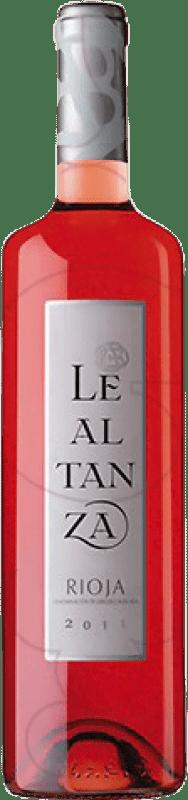5,95 € Free Shipping | Rosé wine Altanza Lealtanza Joven D.O.Ca. Rioja The Rioja Spain Tempranillo Bottle 75 cl