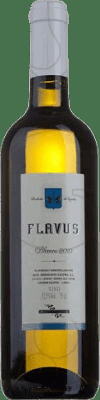 8,95 € 免费送货 | 白酒 Viña Sastre Flavus Crianza 卡斯蒂利亚莱昂 西班牙 Palomino Fino 瓶子 75 cl