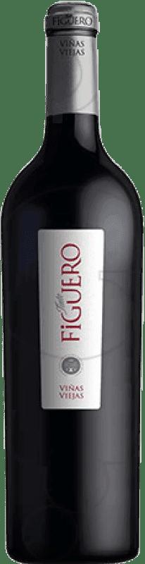 58,95 € Envío gratis | Vino tinto Figuero Viñas Viejas D.O. Ribera del Duero Castilla y León España Tempranillo Botella Mágnum 1,5 L
