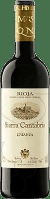 5,95 € | Red wine Sierra Cantabria Crianza D.O.Ca. Rioja The Rioja Spain Tempranillo, Graciano Half Bottle 37 cl
