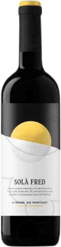 5,95 € Envío gratis | Vino tinto Masroig Sola Fred D.O. Montsant Cataluña España Garnacha, Mazuelo, Cariñena Botella 75 cl