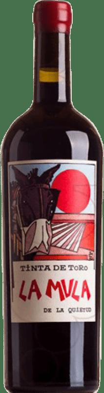 132,95 € | Red wine Quinta de la Quietud La Mula D.O. Toro Castilla y León Spain Tempranillo Magnum Bottle 1,5 L
