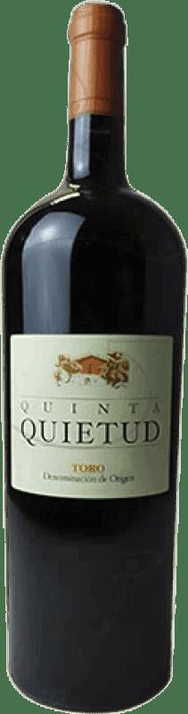 47,95 € Envoi gratuit | Vin rouge Quinta de la Quietud Crianza D.O. Toro Castille et Leon Espagne Bouteille Magnum 1,5 L