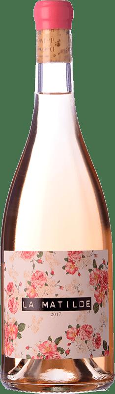 17,95 € 免费送货 | 玫瑰酒 Vall Llach La Matilde Joven D.O.Ca. Priorat 加泰罗尼亚 西班牙 Grenache 瓶子 75 cl