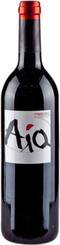21,95 € Free Shipping | Red wine Miquel Oliver Aia Negre Crianza D.O. Pla i Llevant Balearic Islands Spain Merlot Bottle 75 cl