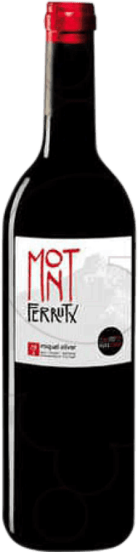 8,95 € Free Shipping | Red wine Miquel Oliver Mont Ferrutx Crianza D.O. Pla i Llevant Balearic Islands Spain Bottle 75 cl