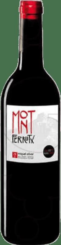 8,95 € Envío gratis | Vino tinto Miquel Oliver Mont Ferrutx Crianza D.O. Pla i Llevant Islas Baleares España Botella 75 cl