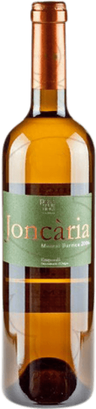 9,95 € Envío gratis | Vino blanco Pere Guardiola Joncaria Crianza D.O. Empordà Cataluña España Moscatel Botella 75 cl