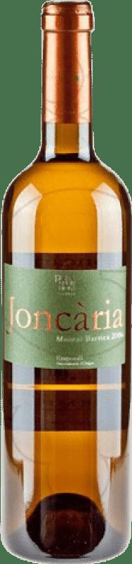 9,95 € Free Shipping | White wine Pere Guardiola Joncaria Crianza D.O. Empordà Catalonia Spain Muscatel Bottle 75 cl