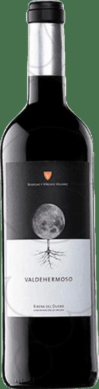22,95 € Envío gratis | Vino tinto Valderiz Valdehermoso Crianza D.O. Ribera del Duero Castilla y León España Tempranillo Botella Mágnum 1,5 L