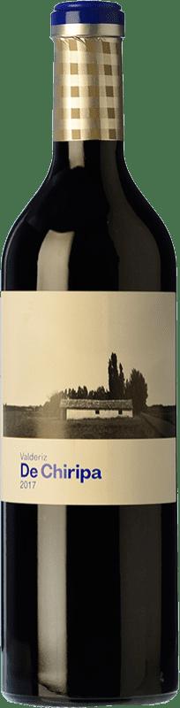 12,95 € Envío gratis | Vino tinto Valderiz de Chiripa Crianza D.O. Ribera del Duero Castilla y León España Tempranillo, Albillo Botella 75 cl
