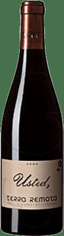 211,95 € Envío gratis | Vino tinto Terra Remota Usted D.O. Empordà Cataluña España Syrah, Garnacha Botella 75 cl