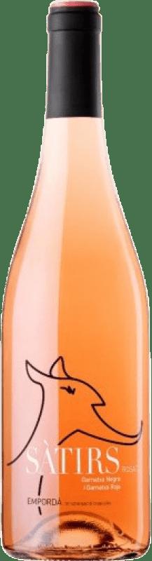 5,95 € Free Shipping | Rosé wine Arché Pagés Satirs Joven D.O. Empordà Catalonia Spain Merlot, Grenache, Cabernet Sauvignon Bottle 75 cl