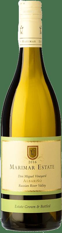 28,95 € 免费送货 | 白酒 Marimar Estate Crianza 美国 Albariño 瓶子 75 cl
