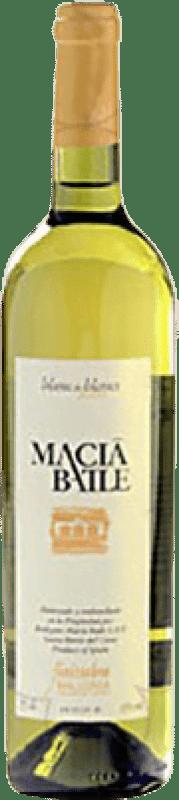 12,95 € Envío gratis | Vino blanco Macià Batle Blanc de Blancs Joven D.O. Binissalem Islas Baleares España Chardonnay, Prensal Blanco Botella 75 cl