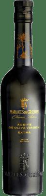 12,95 € Envío gratis | Aceite Marqués de Griñón España Media Botella 50 cl