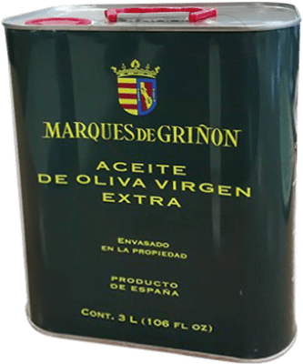 39,95 € | Cooking Oil Marqués de Griñón Spain Lata 3 L