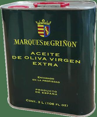 39,95 € Envoi gratuit | Huile Marqués de Griñón Espagne Lata 3 L